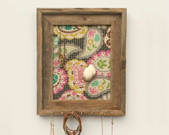 Peculiar Paisley Jewelry Holder - Multicolored - 8 x 10