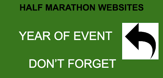 Race Directors - Don't forget to put the YEAR after your race date | Half Marathons 2018 - Half Marathons 2017 - Half Marathon Calendar USA