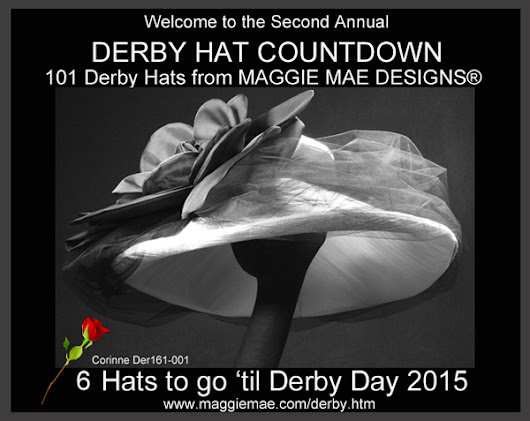 MAGGIE MAE DESIGNS® Derby Hat Countdown - 6 of 101