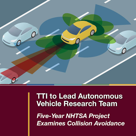 TTI to Lead Autonomous Vehicle Research Team