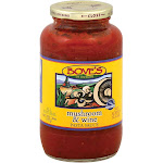 Bove's Of Vermont Pasta Sauce - Mushroom And Wine - Case Of 6 - 24 Fl Oz.