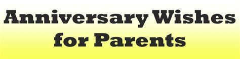 Anniversary Wishes for Parents   Holidappy