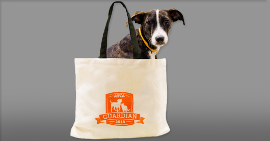 Help Animals All Year and Get a Free Tote!