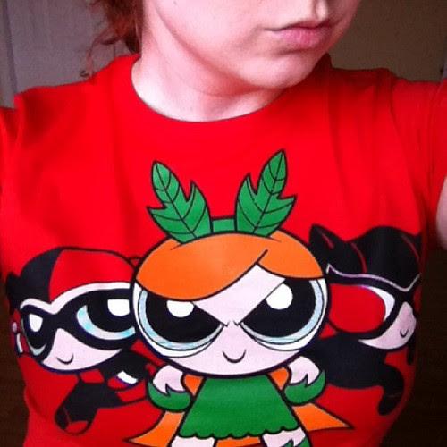Today's t-shirt! #gotham #geekgirl #powerpuffgirls