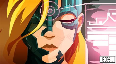 hd velocity   ps  vita game girl wallpaper