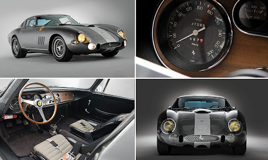 Stunning 50-year-old Ferrari set to sell for £20million