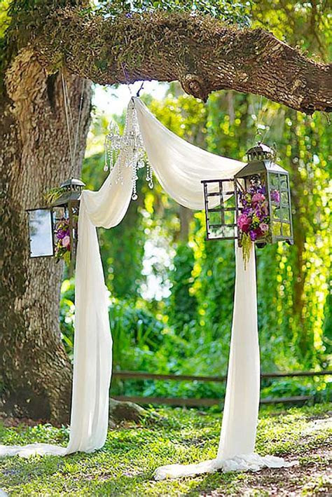 Inexpensive backyard wedding decor ideas 17   VIs Wed