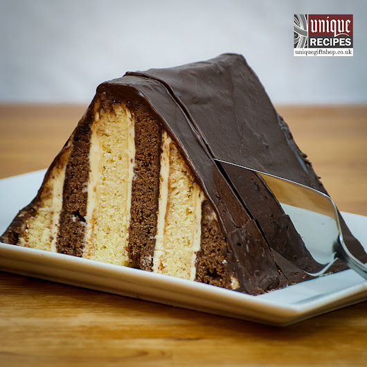 How To Make Triangular Mocha Latte Cake Recipe
