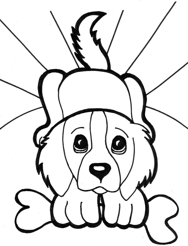 9800 Top Coloring Pages Of Cute Baby Puppies Download Free Images