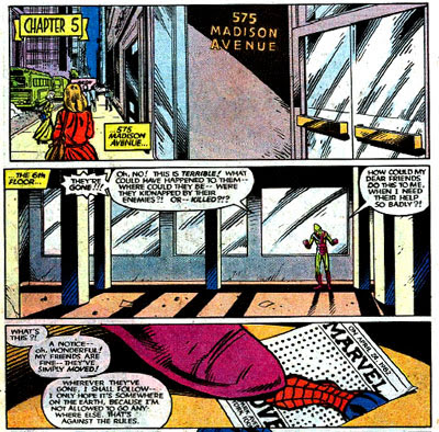 Uncanny X-Men Annual #7 panels