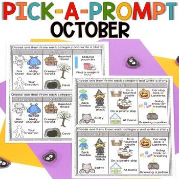 October Pick a Prompt!