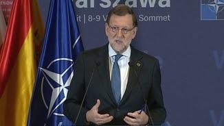 Mariano Rajoy, des de la cimera de l'OTAN a Varsòvia