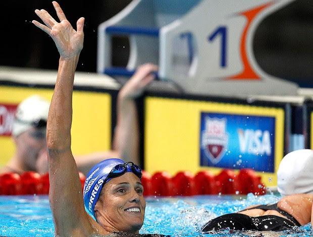 Dara Torres, natação (Foto: Agência Reuters)