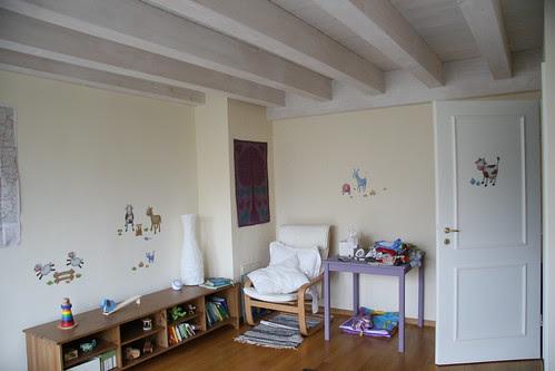 D's room