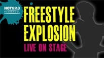 Hot 92.3 Presents Freestyle Explosion pre-sale code for early tickets in Universal City