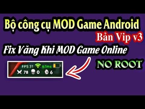 Tải Bộ công cụ MOD game trên Android NO ROOT bản mới nhât