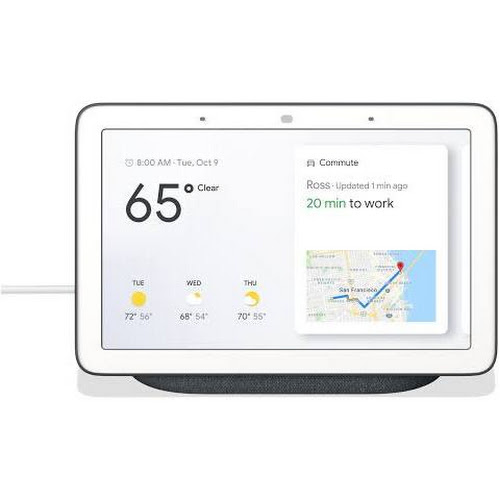 Google Home Hub Smart display - Wireless - Charcoal