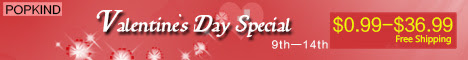 Special price for Valentine's day from Feb.09th-14th