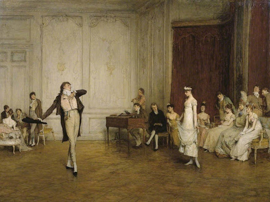 A guide to entertaining in Regency London