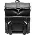 Hagen Leather Laptop Backpack Black A1741705