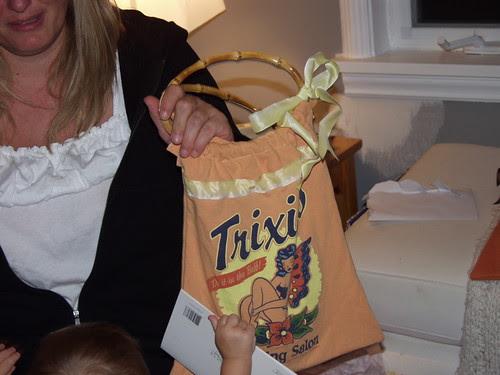 Trixi's t-shirt tote