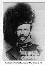 Sgt. Donald Farmer VC 1st Cameron Highlanders