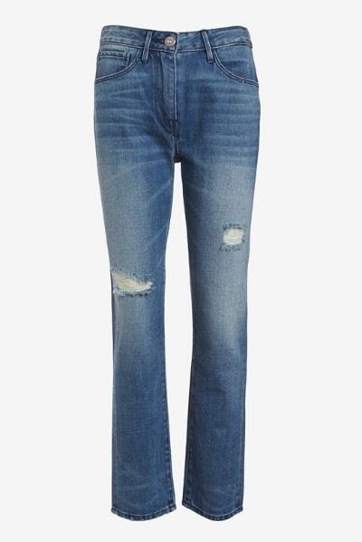 3X1 W3 Highrise Straight Leg Crop Jean