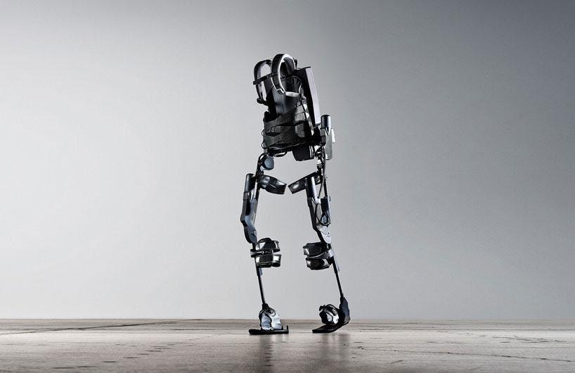 ekso bionic suit: wearable robot allows paraplegics to walk