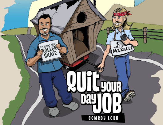 Click here to support Quit Your Day Job Comedy Tour Fund by Matt Ward
