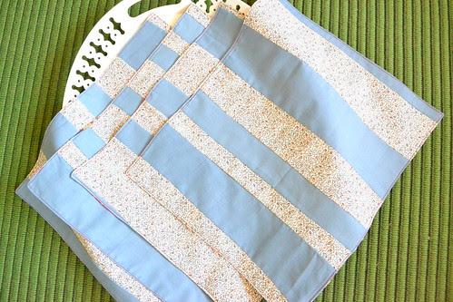 pieced napkins