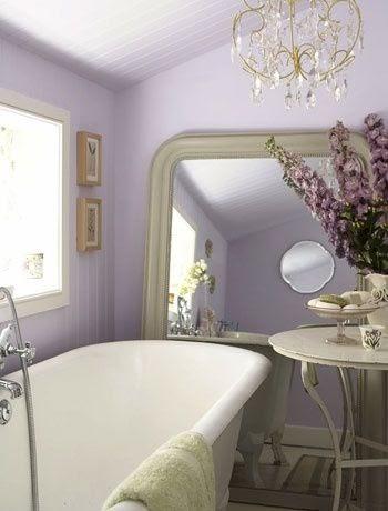 bathroom decor ideas: french country bathroom- love the
