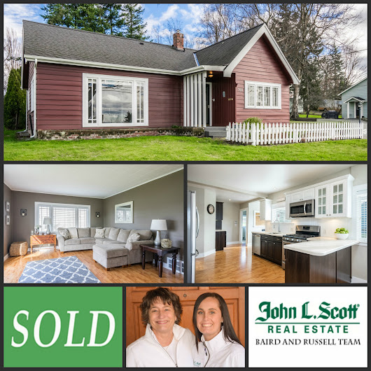 Just Sold! Classic Mount Vernon Home on Hill - 700 N 8th Street, Mount Vernon WA - Live in Skagit Valley
