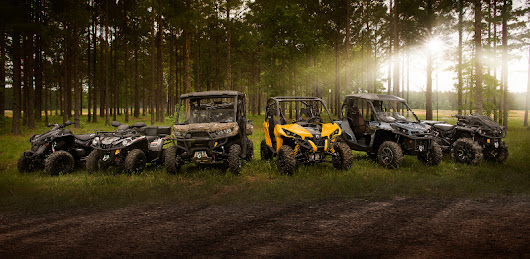 Check out Can-Am's 2017 Lineup of ATVs and UTVs!