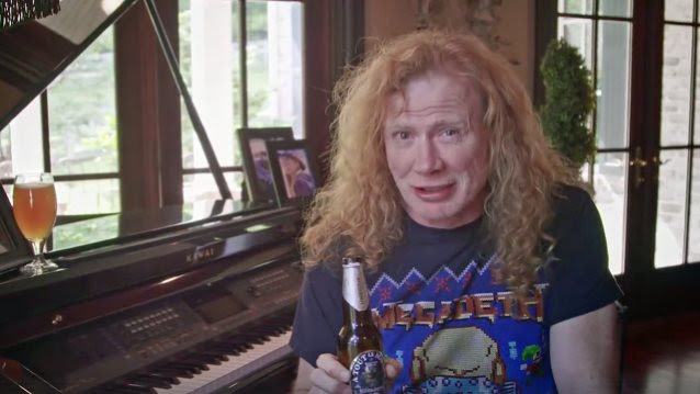 DAVE MUSTAINE Explains Decision To Scrap 'Head Crusher' As Name Of MEGADETH Beer