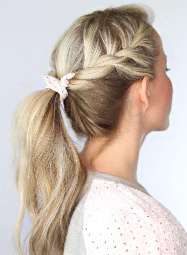 Frisuren Lange Haare Alltags Einfache