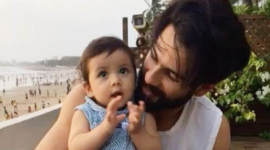 Awww! Watch how Shahid angel Misha 'Learns How To Clap'