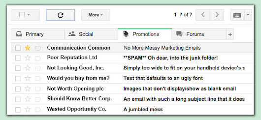 No More Messy Marketing Emails
