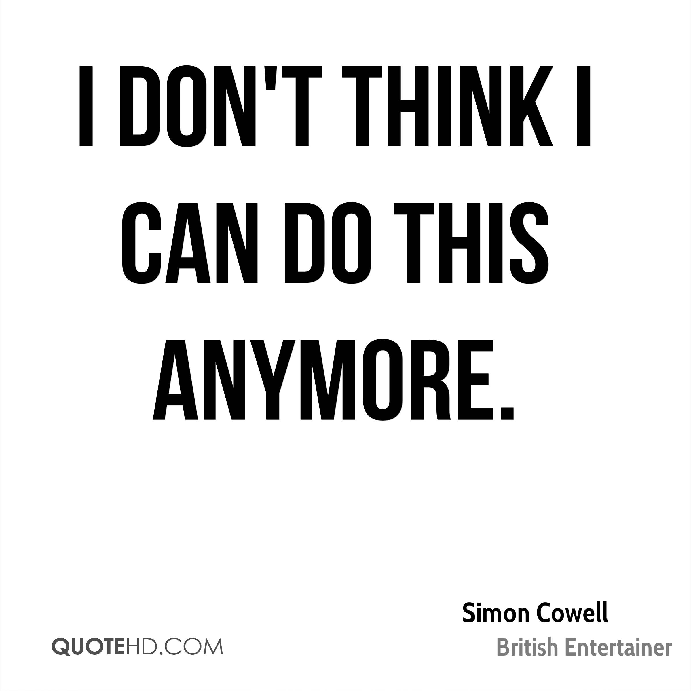 Cant Do Anymore Quotes