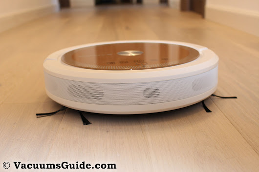 Alfawise A6 robot vacuum cleaner - another pink bot to the rescue