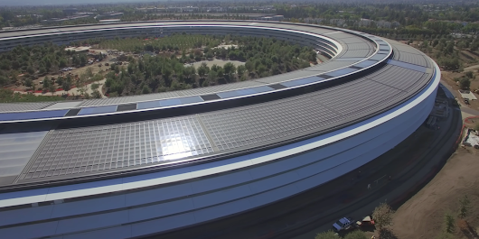 Apple is putting the finishing touches on its $5 billion campus — including private basketball courts