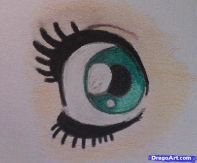draw simple eyes step  step anime eyes anime
