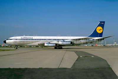 Lufthansa Boeing 707-430 D-ABOG (msn 18056) ORY (Jacques Guillem). Image: 922282.