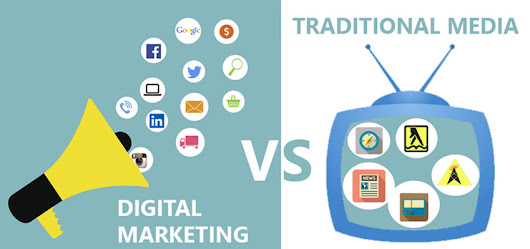 9 reasons you need Digital Marketing over Traditional Marketing - ClickPoint Solution | Blog