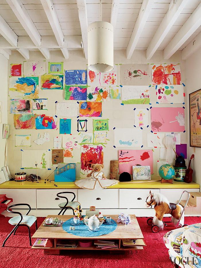 Vogue americana Pastoral Miranda Brooks e Brooklyn Bastien Halard de 7 Home