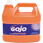 GOJO Natural Orange Pumice Hand Cleaner - 1 gal jug