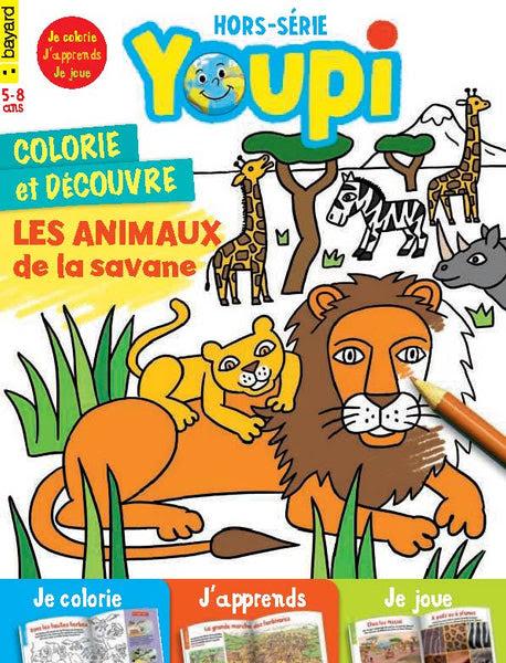 【choisi】 Animaux De La Savane Coloriage