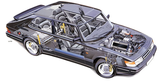 Geek Out Over The Saab 900 Engineering Brochure