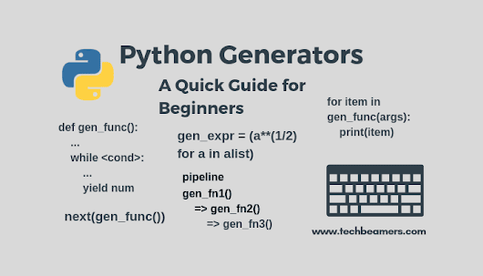 Python Generator Function, Expression with Examples
