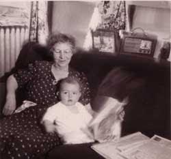 Photo of Robby and Nana by Robert S. Stepno