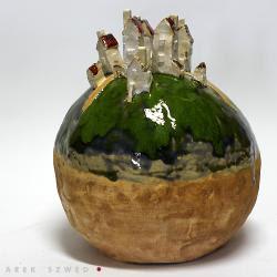 Ceramika Artystycznafigurkirzeźba Ceramiczna Ceramika I Szkło